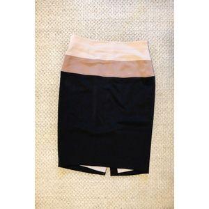 Tri Color Ann Taylor Skirt
